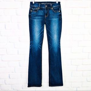 American Eagle Outfitters Kick Boot Jeans 2 Long